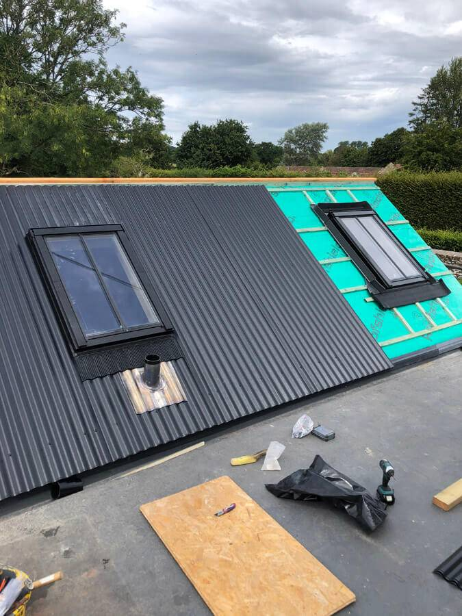 roof and velux windows